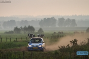 Niek Oude Luttikhuis - Wilbert van den Burg - Nissan Micra - Unica Schutte ICT Hellendoorn Rally 2014