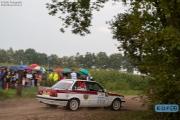 Martin van den Berge - Paul Posthumus - BMW E30 325i - Bas Koeten Racing - Unica Schutte ICT Hellendoorn Rally 2014