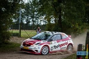 Ruurd Ochse - Jan-Albert Bosscha - Honda Civic Type-R FN2 R3 - Unica Schutte ICT Hellendoorn Short Rally 2014