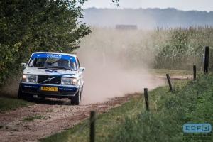 Thom de Jong - Sjoerd Weernink - Volvo 240 Turbo - Unica Schutte ICT Hellendoorn Short Rally 2014