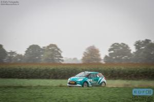 Rene Wawrzyniak - Chris van Waardenburg - Citroen DS3 R3T - Unica Schutte ICT Hellendoorn Short Rally 2014