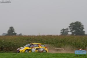 Tom van Altena - Gino van Altena - Citroen DS3 R3T - Unica Schutte ICT Hellendoorn Short Rally 2014