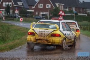 Ivo van Rijn - Danny Hoekstra - Subaru Impreza STi - Unica Schutte ICT Hellendoorn Short Rally 2014