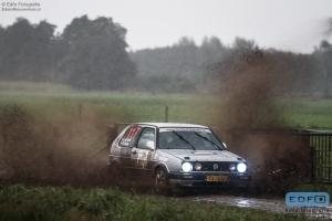 Jelte de Boef - Bart Muller - VW Golf - Unica Schutte ICT Hellendoorn Rally 2014