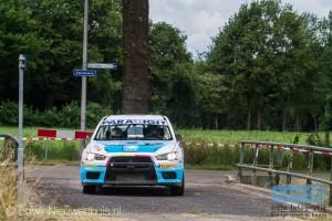 Arjen de Koning en Sander van Barschot pakten ook in 2014 de winst in de Autosoft Vechtdal Rally