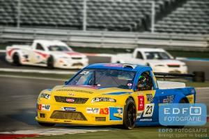 Alx Danielson in de MWV6 Pickup Series tijdens Acceleration14 op TT-Circuit Assen