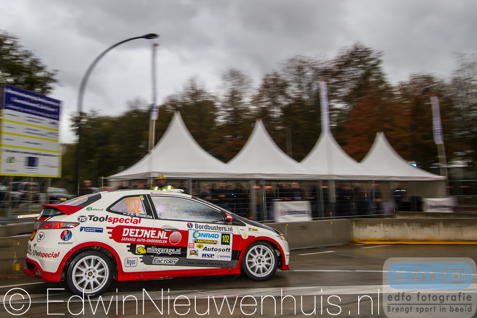 Ruurd Ochse en Jan-Albert Bosscha pakten met een tweede plaats in de Conrad Twente Short Rally in Hengelo de titel in het Account Software Short Rally Kampioenschap 2013