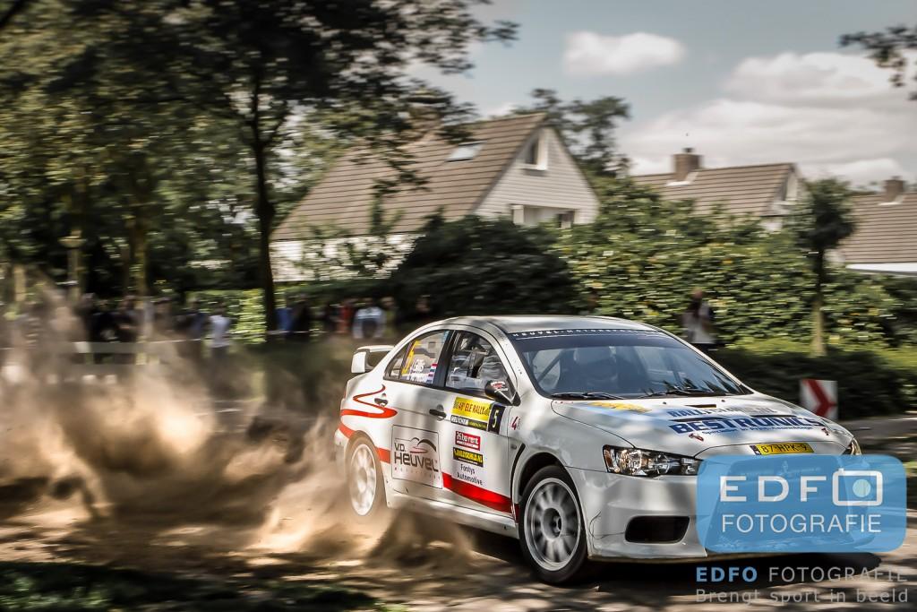 Jasper van den Heuvel - Jac Gillis - Mitsubishi Lancer EVO 10 - ELE Rally 2012