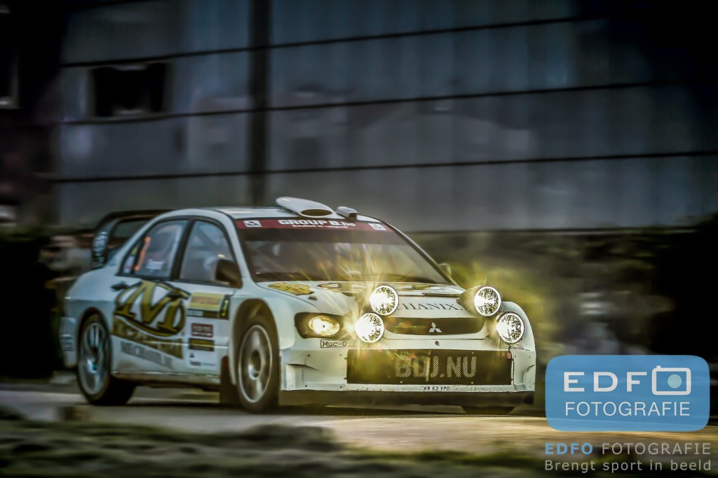 Bob de Jong - Bjorn Degandt - Mitsubishi Lancer WRC 05 - ELE Rally 2013 - Edfo Fotografie