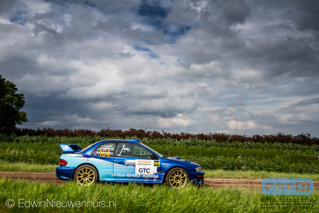 James Sparrow - Steve Lancaster - Subaru Impreza WRC - Jumbo Short Rally 2014