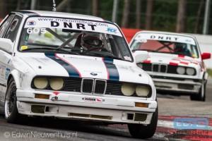 Milko Mebus in de DNRT E30 Cup op Circuit Zolder