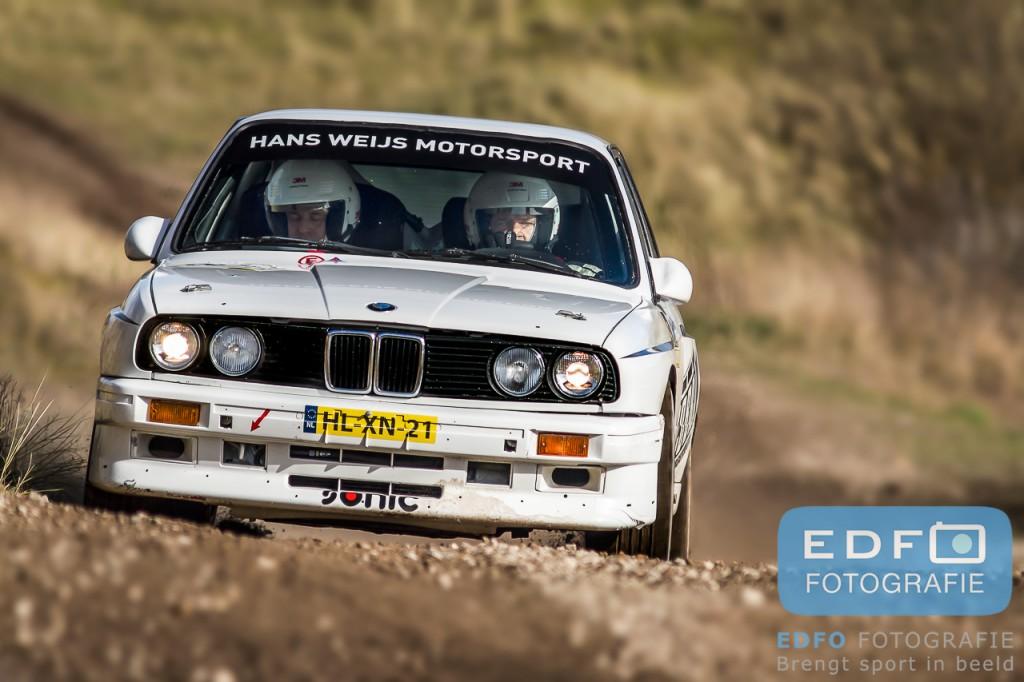 Hans Weijs en Wim Vleugels - BMW E30 M3 - Hans Weijs Motorsport - RallyPro Circuit Short Rally 2014