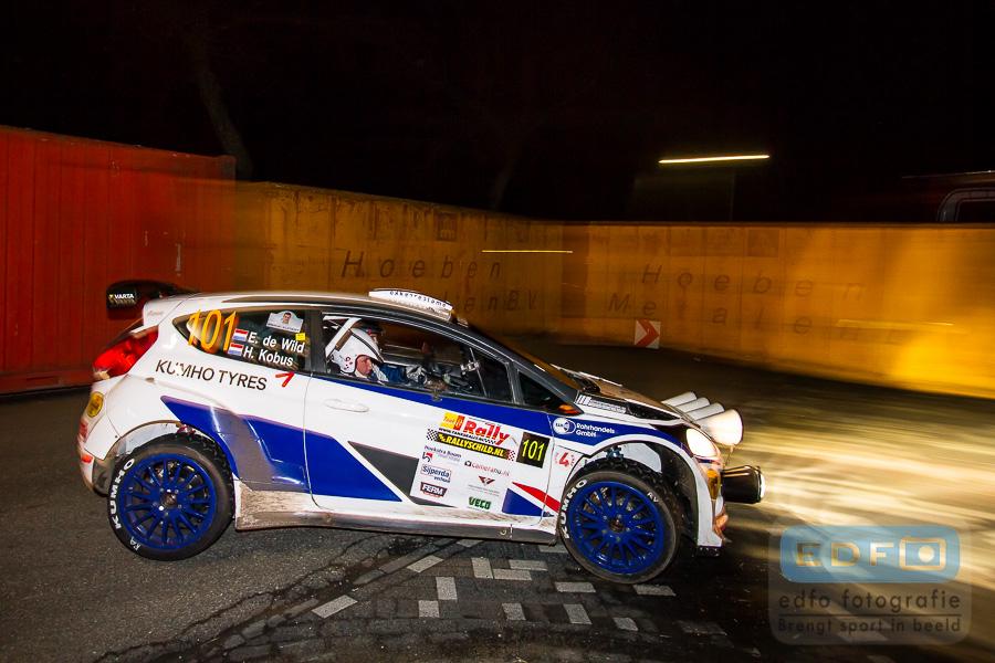 Hermen Kobus - Erik de Wild - Ford Fiesta S2000 - Tank S Short Rally 2013