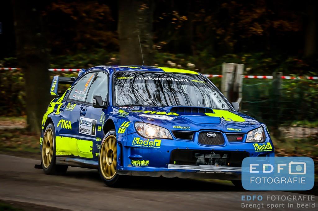 Jan de Winkel - Radboud van Hoek - Subaru Impreza WRC S12 - Conrad Euregio Rally 2007