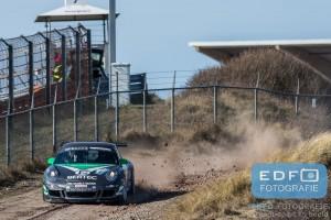Kevin Abbring en Piero Vandeputte op weg naar winst in de RallyPro Circuit Short Rally