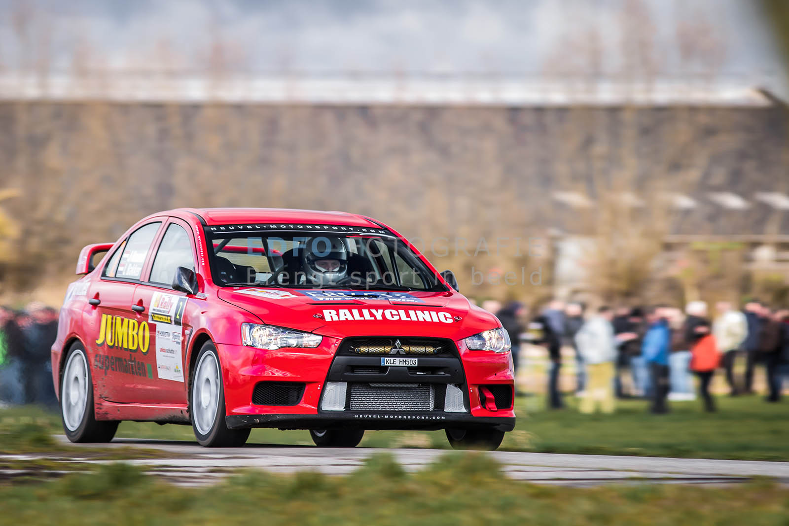 Jasper van den Heuvel - Lisette Bakker - Mitsubishi Lancer EVO 10 - Tank S Rally 2015