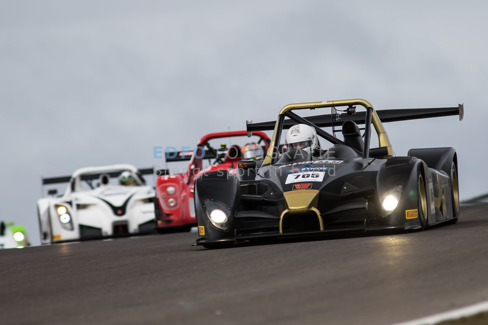 Yorck Schumacher - Wolf GB08 - Bas Koeten Racing - Supercar Challenge Superlights - Paasraces 2015