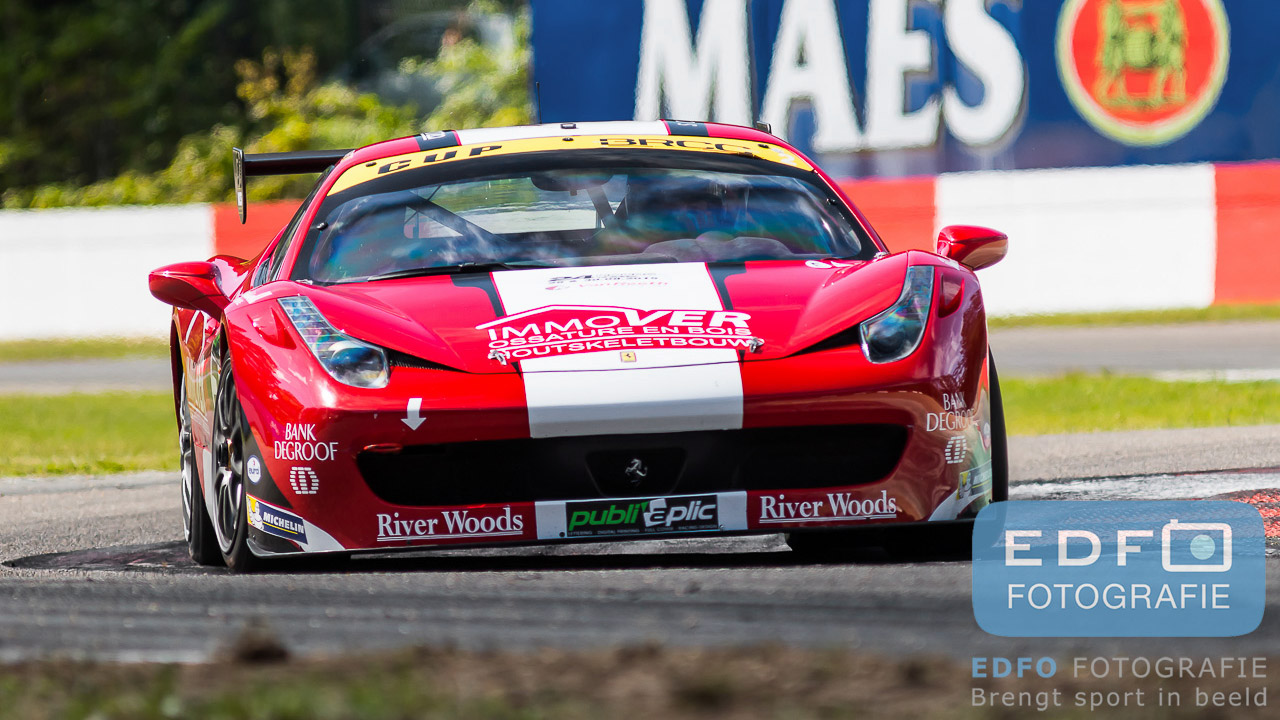 Thiers - Ferrari 458 - New Race Festival - BelCar Trophy - Circuit Zolder