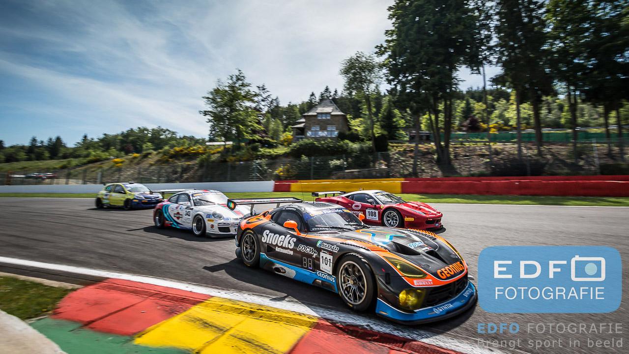 Roger Grouwels - Kelvin Snoeks - Dodge Viper GT3-R - Team Race-Art - Spa Euro Races -Supercar Challenge - Circuit Spa Francorchamps
