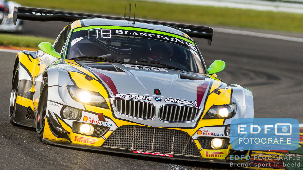 Nick Catsburg - Markus Paltalla - Lucas Luhr - BMW Sports Trophy Team Marc VDS - BMW Z4 GT3 - Total 24 Hours of Spa Francorchamps - Blancpain Endurance Series - Circuit Spa Francorchamps