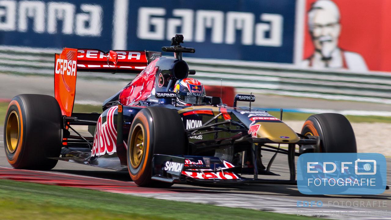 Max Verstappen - Toro Rosso - Formule 1 demo - Gamma Racing Day TT-Circuit Assen