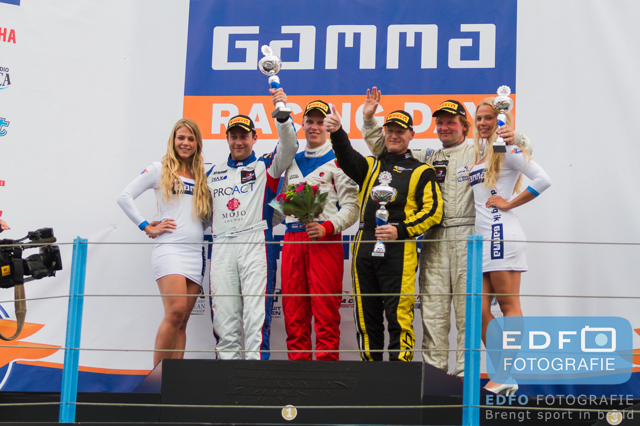 Podium Supercar Challenge Supersport Michael Verhagen