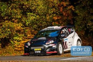 Gerard Hijink - Tim Rietveld - Ford Fiesta R5 - Conrad Twente Rally 2015