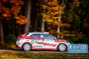 Ruurd Ochse - Jan-Albert Bosscha - Honda Civic Type R FN2 R3 - Conrad Twente Rally 2015