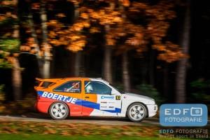 Ad Smits - Arie Boertje - Ford Escort RS Cosworth - Conrad Twente Rally 2015