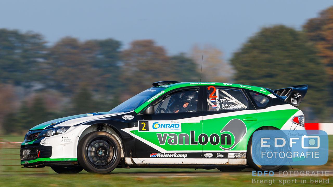 Erik van Loon - Harmen Scholtalbers - Subaru Impreza WRC S14 - Conrad Twente Rally 2015