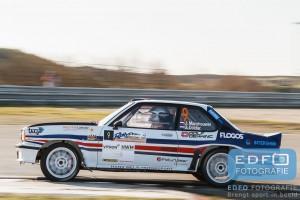 Janjur Monshouwer - Jeroen Docter - Opel Ascona 400 - Circuit Short Rally - Circuit Park Zandvoort