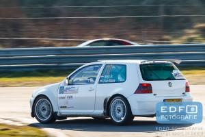Hans Weijs - Jamilla van Altena - VW Golf 4 F2 Kitcar - Circuit Short Rally - Circuit Park Zandvoort