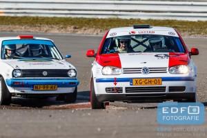 Jos Heijnen - Jeroen Heijnen - VW Golf IV - Circuit Short Rally - Circuit Park Zandvoort