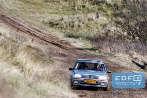 Lambert Parren - John Coumans - Peugeot 205 GTi - Circuit Short Rally - Circuit Park Zandvoort