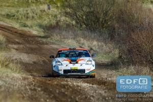 Diter Toprek - Renaldo Lier - Nissan 350Z - Circuit Short Rally - Circuit Park Zandvoort