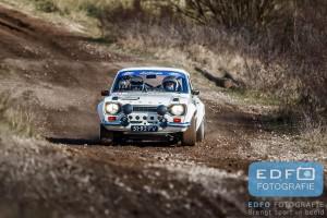 Wim Luijbregts - Joe van Burik - Ford Escort MK1 Gr. S - Circuit Short Rally - Circuit Park Zandvoort