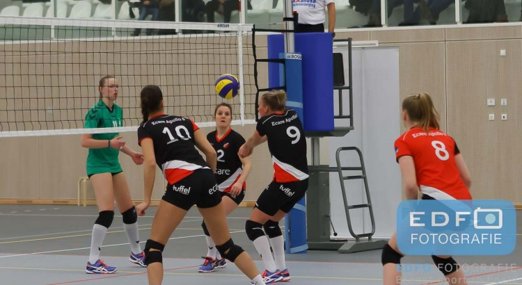 Volleybal - Ecare Apollo 8 Dames 1 - VV Alterno DS2 - Sporhal de Veste Borne
