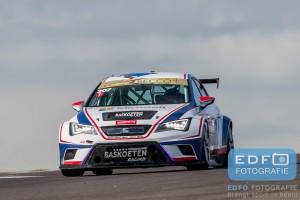 Martin van den Berge - Henk Haane - SEAT Leon Cupracer - DNRT WEK Final 4 - Circuit Park Zandvoort