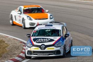Mika Morien - Ronald Morien - Niels Langeveld - Renault Clio - DNRT WEK Final 4 - Circuit Park Zandvoort
