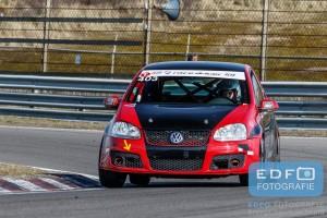 Henk Maassen van den Brink - Robin Vogel - King Cap - Volkswagen Golf TDi - DNRT WEK Final 4 - Circuit Park Zandvoort