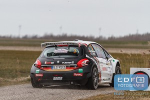 Christian Riedemann - Josefine Beinke - Peugeot 208 T16 R5 - Zuiderzeerally 2016
