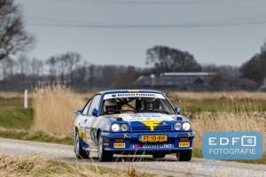 Edwin Wolves - Ferdi ter Maat - Opel Manta 200 - Zuiderzeerally 2016