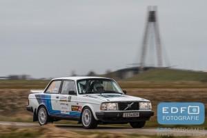 Kurt Meijer - Vagn Age Hansen - Volvo 240 Turbo - Zuiderzeerally 2016