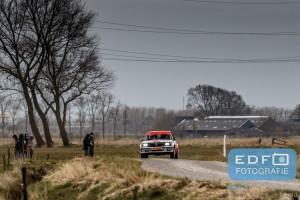 Harry Meijers - Hans Hengstman - Opel Ascona B - Zuiderzeerally 2016
