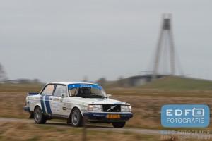 Thom de Jong - Sjoerd Weernink - Volvo 240 Turbo - Zuiderzee Short Rally 2016