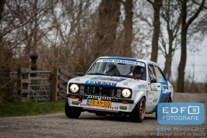 Anton Moree - Youp Scheffers - Ford Escort RS - Zuiderzee Short Rally 2016