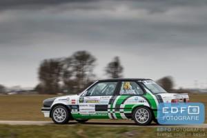 Bjorn Scherff - Dennis Lippens - BMW 325i E30 - Zuiderzeerally 2016