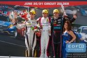 Loris Hezemans - Sebastiaan Bleekemolen - Niels Langeveld - Renault Clio - Clio Cup Benelux - Syntix Super Prix - Circuit Zolder