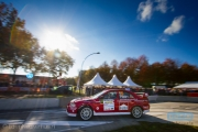 Martijn Broekhuizen - Frank Teunissen - Mitsubishi Lancer EVO 6 - Autosoft Twente Short Rally 2014
