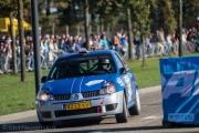 Erwin Linde - Bart Woolderink - Renault Clio Ragnotti - Autosoft Twente Short Rally 2014